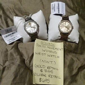 Movado womens wristwatch